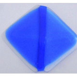 COE 90 bright blue transparant - doorzichtig glas 10 x 9 cm (3 mm dik)_13