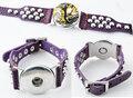 DoubleBeads-EasyButton-XL-leren-armband(100-top-leer)±18-22cm(paars)